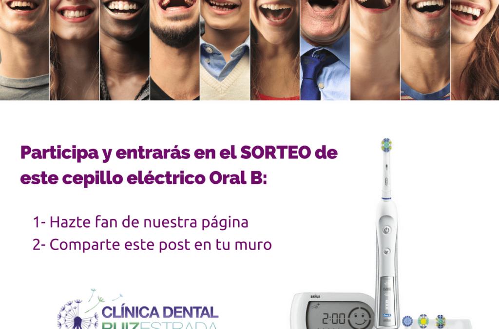Sorteo de un cepillo eléctrico Oral B 5000 Profesional